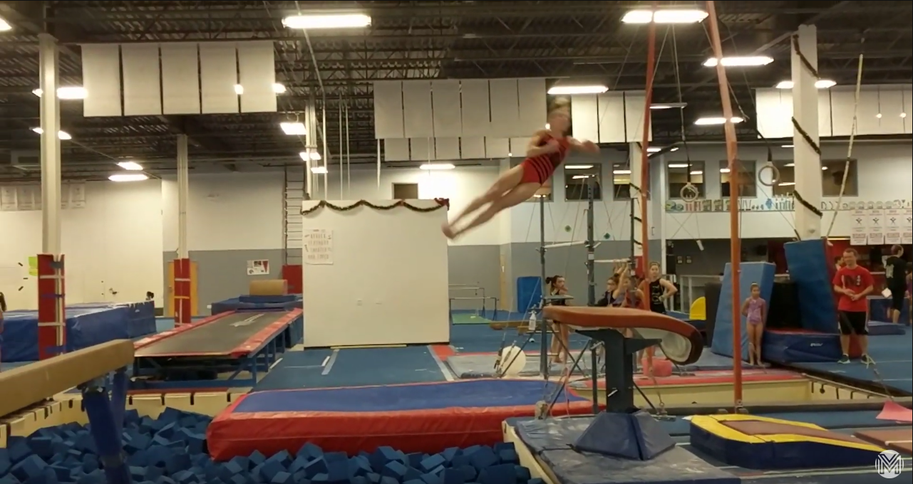 Maddie Steskal yurchenko screenshot
